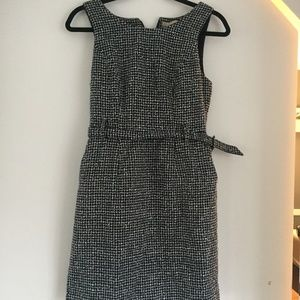 Banana Republic navy sheath dress